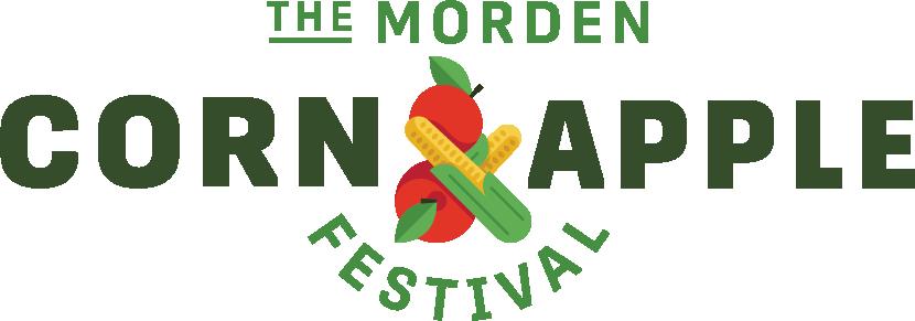 the Morden corn and apple festival logo